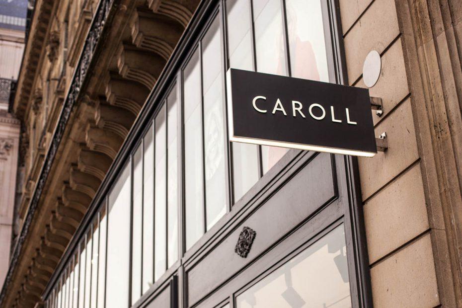 Caroll-Paris-Enseigne